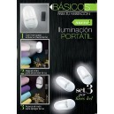 Set x 3 Luces LED